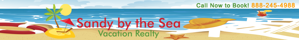 Sandy by the Sea Vacation Realty Logo