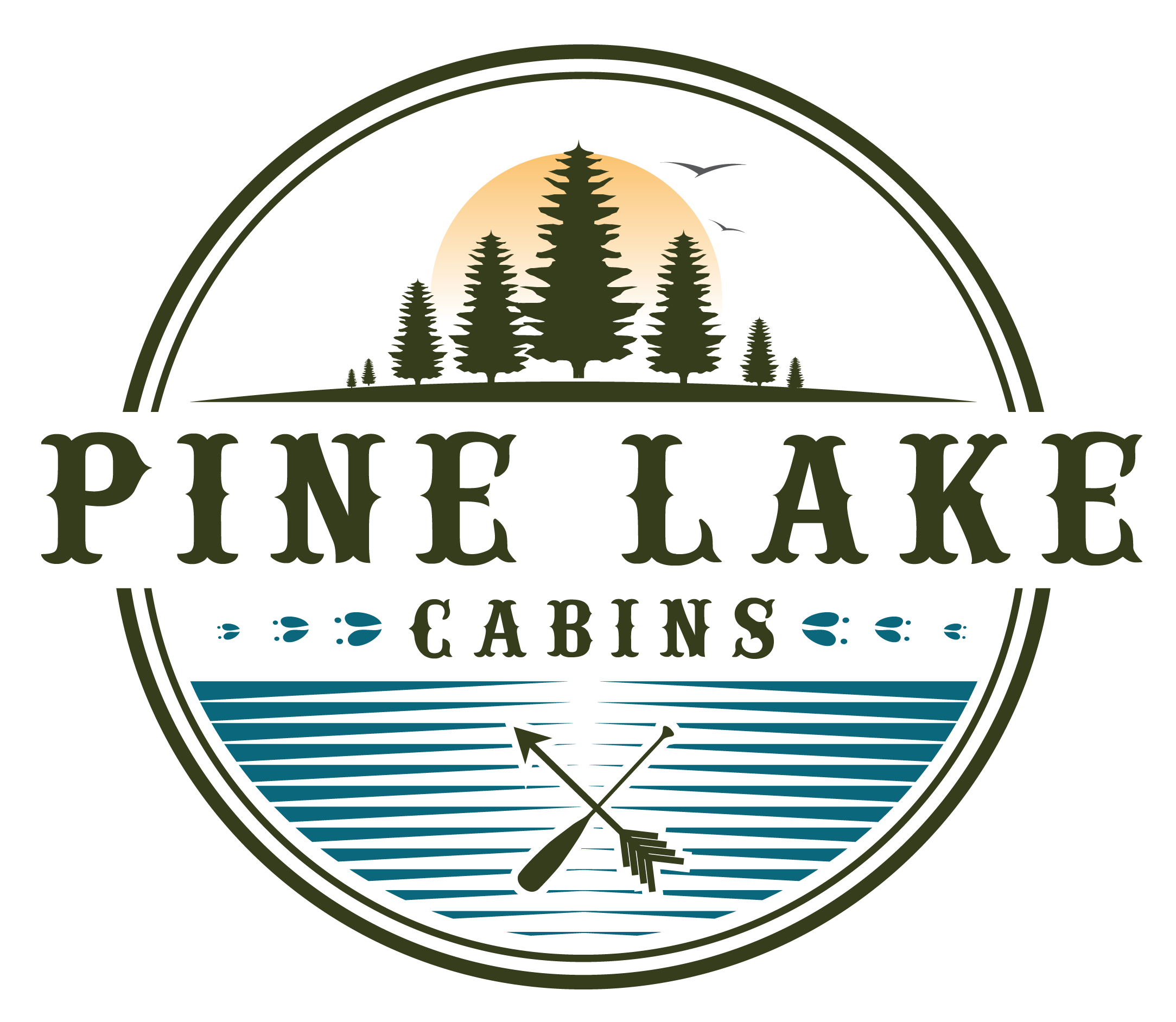 Pine Lake Cabins Logo