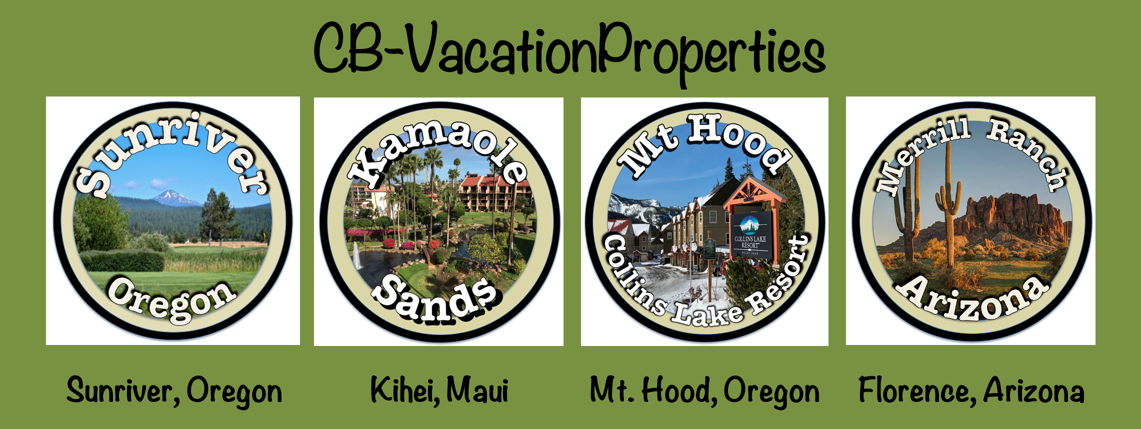 Sunriver Vacation Rentals Logo